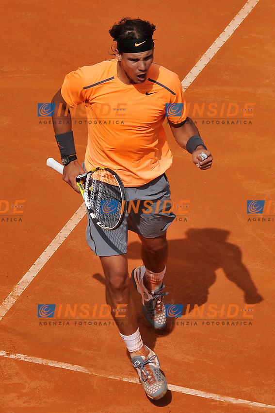 Rafael Nadal of Spain .Roma 18/05/2012 Foro Italico.Tennis Internazionali d'Italia.Foto Insidefoto Antonietta Baldassarre