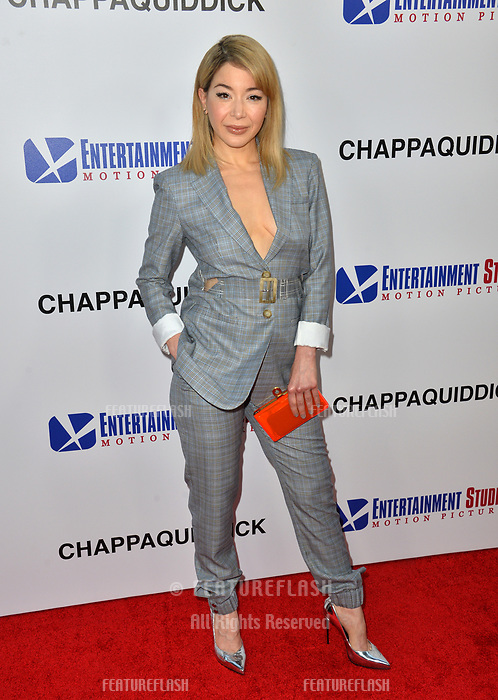 Katherine Castro at the premiere for &quot;Chappaquiddick&quot; at the Samuel Goldwyn Theatre, Los Angeles, USA 28 March 2018<br /> Picture: Paul Smith/Featureflash/SilverHub 0208 004 5359 sales@silverhubmedia.com