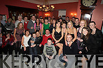 30: Debbie Guerin,Killerisk Tralee (seated 3rd from left) with her family and friends as she celebrated her 30th Birthday in The Imperial Hotel, Tralee on Saturday night............. ....