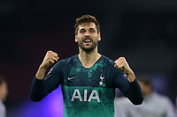 Fernando Llorente of Tottenham Hotspur celebrates reaching the Champions League final after AFC Ajax vs Tottenham Hotspur, UEFA Champions League Football at the Johan Cruyff Arena on 8th May 2019