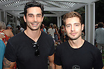 Landon Ross, Julian Morris==<br /> LAXART 5th Annual Garden Party Presented by Tory Burch==<br /> Private Residence, Beverly Hills, CA==<br /> August 3, 2014==<br /> &copy;LAXART==<br /> Photo: DAVID CROTTY/Laxart.com==