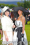 Michelle Hurley, Killarney and Priscilla Cronin, Newcastle West.. at Killarney races ladies day on Thursday.