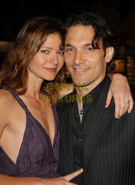 "JILL HENNESSY & HUSBAND.The Paramount Pictures L.A. Premiere of ""Shooter"" held at The Mann Village Theatre in Westwood, California, USA..March 8th, 2007.headshot portrait married wife.CAP/DVS.©Debbie VanStory/Capital Pictures"