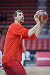 Spain Fran Vazquez during European Qualifiers to China 2019 World Cup match between Spain and Montenegro at Principe Felipe Stadium in Zaragoza , Spain. February 22, 2018. (ALTERPHOTOS/Borja B.Hojas)