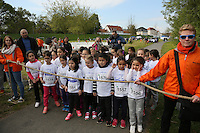 Kinder des Jahrgangs 2009/10 warten auf den Startschuss