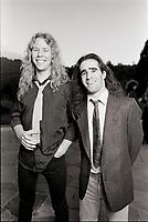 Metallica pictured in 1986. <br /> CAP/MPI/GA<br /> &copy;GA/MPI/Capital Pictures