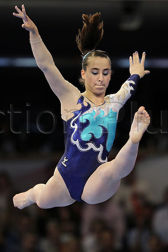 10 04 2011  Carlotta Ferlito ITA during Women s Individual apparatus Final AT The European Championships 2011 in Berlin 09 04 2011 Gymnastics Artistic
