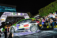 13th March 2020, Guanajuato, Mexico; WRC Rally of Mexico;   Oliver Solberg SUE and Aaron Johnston GBR - Skoda MOTORSPORT