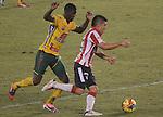 Barranquilla- Atlético Junior derrotó 4-3 a Atlético Huila, en el partido correspondiente a la primera fecha del Torneo Clausura 2014, desarrollado el 3 de septiembre en el estadio Metropolitano.
