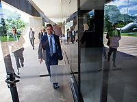 BRASILIA, DF, 28.11.2018 - MORO-CCBB-   Sérgio Moro, provável futuro ministro da Justiça, após almoço no CCBB, onde ocorre a transição do Governo, nesta quarta, 28.(Foto:Ed Ferreira / Brazil Photo Press)