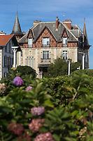 France, Aquitaine, Pyrénées-Atlantiques, Pays Basque,  Biarritz :  Villa:  le Goéland,  Plateau de l'Atalaye  //  France, Pyrenees Atlantiques, Basque Country, Biarritz :  Villa:  le Goéland,  Plateau de l'Atalaye