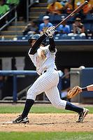 Staten Island Yankees infielder Matt Duran (20) during game against the Auburn Doubledays at Richmond County Bank Ballpark at St.George on August 2, 2012 in Staten Island, NY.  Auburn defeated Staten Island 11-3.  Tomasso DeRosa/Four Seam Images