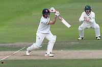 Simon Harmer of Essex in batting action during Nottinghamshire CCC vs Essex CCC, Specsavers County Championship Division 1 Cricket at Trent Bridge on 11th September 2018