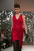 February 2009. London Fashion Week. Collection by designer Ashley Isham.