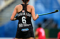 Amy Robinson during the World Hockey League match between New Zealand and Korea. North Harbour Hockey Stadium, Auckland, New Zealand. Saturday 18 November 2017. Photo:Simon Watts / www.bwmedia.co.nz