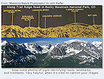 """Driving Trail Ridge Road should be on everyone's """"bucket list.""""<br /> Information sign, from: """"Mastering Nature Photography"""" by John Kieffer."""