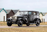 BNPS.co.uk (01202 558833)<br /> Pic:  Bonhams/BNPS<br /> <br /> If cars could speak....<br /> <br /> A customised Rolls Royce that was built for Edward VIII has emerged for sale at auction for £200,000.<br /> <br /> The breathtaking Phantom 1 saloon was ordered in 1927 when Edward was still known as Edward, Prince of Wales, or 'the playboy prince'.<br /> <br /> The royal was known for his love of golf, tennis, parties and expensive cars with the Rolls among his most valuable.<br /> <br /> He kept the motor for ten years during which time he took the thrown following the death of his father George V in 1936.