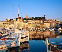 France, Côte d'Azur, Cannes: Harbour Scene | Frankreich, Côte d'Azur, Cannes: Hafen