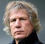 Nederland, Arnhem, 1 april 2012.Eredivisie.Seizoen 2011-2012.Vitesse-AZ.Gertjan Verbeek, trainer-coach van AZ