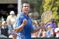 19-8-07, Amsterdam, Tennis, Nationale Tennis Kampioenschappen 2007, Igor Sijsling wint de NK