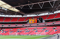 General view of Wembley Stadium ahead of kick-off during AFC Fylde vs Salford City, Vanarama National League Football Promotion Final at Wembley Stadium on 11th May 2019