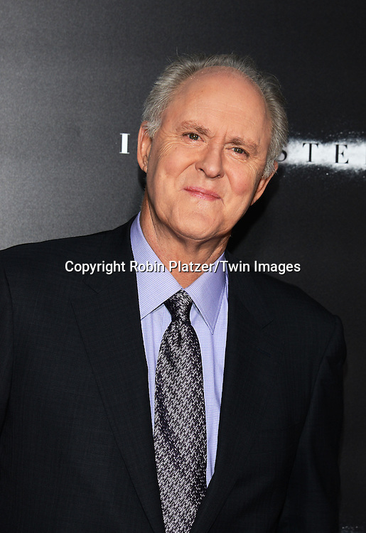 John Lithgow attends the New York Premiere of &quot;Interstellar&quot; on November 3 ,2014 at AMC Lincoln Square IMAX Theatre in New York City<br /> <br /> photo by Robin Platzer/Twin Images<br />  <br /> phone number 212-935-0770
