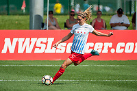 Kansas City, MO - Saturday September 9, 2017: Morgan Brian during a regular season National Women's Soccer League (NWSL) match between FC Kansas City and the Chicago Red Stars at Children's Mercy Victory Field.