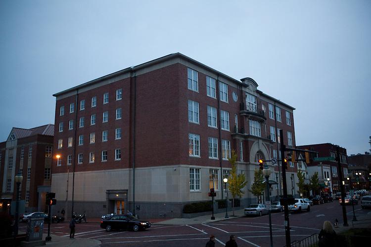 Copeland Hall at Ohio University on October 30, 2013.