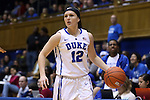 19 December 2014: Duke's Mercedes Riggs. The Duke University Blue Devils hosted the University of Massachusetts Lowell River Hawks at Cameron Indoor Stadium in Durham, North Carolina in a 2014-15 NCAA Division I Women's Basketball game. Duke won the game 95-48.