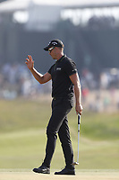 Henrik Stenson (SWE) reacts to making a birdie putt on the 14th hole during the 118th U.S. Open Championship at Shinnecock Hills Golf Club in Southampton, NY, USA. 17th June 2018.<br /> Picture: Golffile | Brian Spurlock<br /> <br /> <br /> All photo usage must carry mandatory copyright credit (&copy; Golffile | Brian Spurlock)
