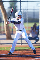 Jaxson Lucas (48), from Pelham, Alabama, while playing for the Nationals during the Under Armour Baseball Factory Recruiting Classic at Red Mountain Baseball Complex on December 29, 2017 in Mesa, Arizona. (Zachary Lucy/Four Seam Images)