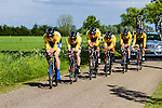 Cycling Team De Rijke, Stage 2: Team Time Trial, 62th Olympia's Tour, Netterden, The Netherlands, 13th May 2014, Photo by Thomas van Bracht / Peloton Photos