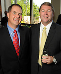 Jack Kims and Bret Aldridge at the Men of Distinction Luncheon at the River Oaks Country Club Wednesday May 05,2010.  (Dave Rossman Photo)