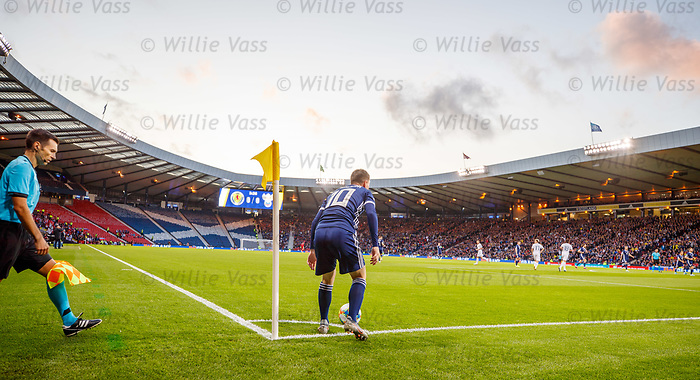 06.09.2019 Scotland v Russia, European Championship 2020 qualifying round, Hampden Park:<br /> Empty stands at Hampden