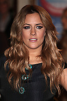 Caroline Flack arriving for the I Can't Sing Press Night, at the Paladium, London. 26/03/2014 Picture by: Alexandra Glen / Featureflash