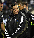 All Black Piri Weepu following the international rugby match between the New Zealand All Blacks and South Africa at Jade Stadium, Christchurch, New Zealand. 14 July 2007. Photo: Marc Weakley