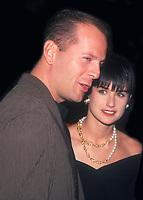 Bruce Willis and Demi Moore. Credit: John Barrett/PhotoLink/MediaPunch