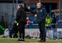Bolton Wanderers' manager Keith Hill instructs his side<br /> <br /> Photographer Andrew Kearns/CameraSport<br /> <br /> The EFL Sky Bet League One - Rochdale v Bolton Wanderers - Saturday 11th January 2020 - Spotland Stadium - Rochdale<br /> <br /> World Copyright © 2020 CameraSport. All rights reserved. 43 Linden Ave. Countesthorpe. Leicester. England. LE8 5PG - Tel: +44 (0) 116 277 4147 - admin@camerasport.com - www.camerasport.com