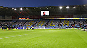 2nd February 2019, Cardiff City Stadium, Cardiff, Wales; EPL Premier League football, Cardiff City versus AFC Bournemouth; A moment silence is observed in memory of Emiliano Sala before kickoff