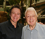 "Guiding Light's Frank Dicopoulos ""Frank Cooper"" poses with his dad Harry at the Young Women's Breast Cancer Foundation event - Reach to Recovery - ""Spring into Shape!"" Luncheon and Fashion Show on April 6, 2008 at Embassy Suites, Coraopolis, Pennsylvania. The event also included a Chinese Auction and an autograph session with the Guiding Light actors. (Photo by Sue Coflin/Max Photos)"