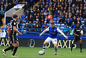 1st October 2017, Hillsborough, Sheffield, England; EFL Championship football, Sheffield Wednesday versus Leeds United; Gary Hooper of Sheffield Wednesday shoots and hits the crossbar
