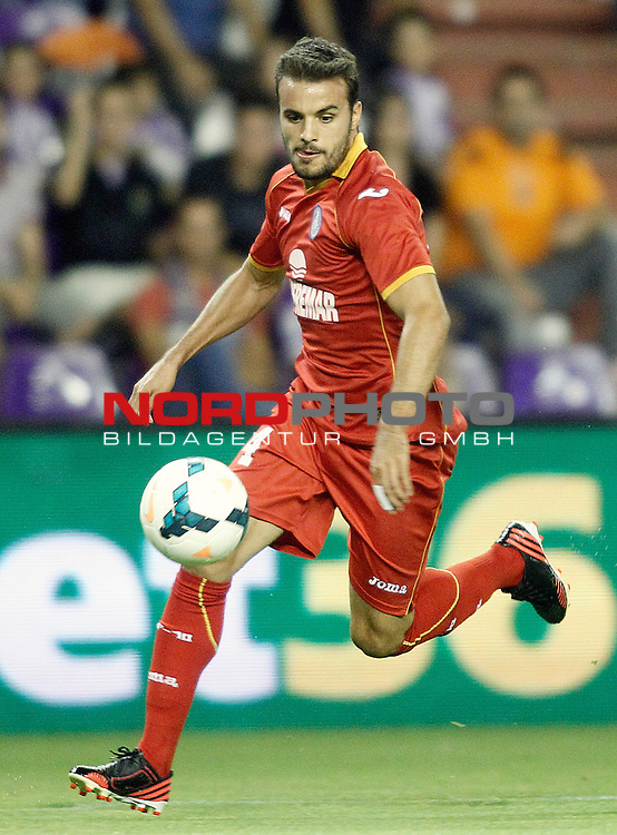 Getafe's Pedro Leon during La Liga match.August 31,2013. Foto © nph / Acero)