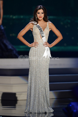 MIAMI, FL - JANUARY 21: Miss Colombia Paulina Vega competes in the The 63rd Annual Miss Universe Preliminary Competition and National Costume Show, held at U.S. Century Bank Arena, Florida International University on January 21, 2015 in Miami, Florida.  Credit: mpi04/MediaPunch ***NO NY DAILIES OR NEWSPAPERS***