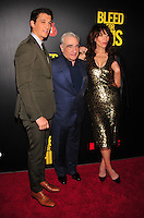 NEW YORK,NY November 014 : Miles Teller, Martin Scorcese, Katey Sagal attends as Open Road with Men's Fitness host the premiere of 'Bleed For This' at AMC Lincoln Square Theater on November 14, 2016 in New York City..@John Palmer / Media Punch