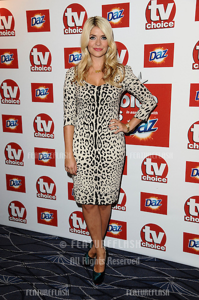 Holly Willoughby arriving for the 2011 TVChoice Awards, at The Savoy, London. 13/09/2011 Picture by: Steve Vas / Featureflash