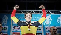 Wout Van Aert (BEL/Crelan-Vastgoedservice) is Belgian National Champion for the very first time<br /> <br /> 2016 Belgian National CX Championships