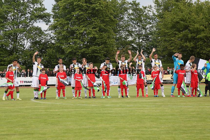 Borussia Mönchengladbach begrüßt die Fans
