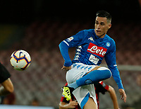 Jose Callejon  during the  italian serie a soccer match,  SSC Napoli - Milan      at  the San  Paolo   stadium in Naples  Italy , August 25, 2018