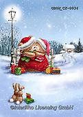 Roger, CHRISTMAS ANIMALS, WEIHNACHTEN TIERE, NAVIDAD ANIMALES, paintings+++++,GBRMCX-0034,#xa#