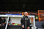 Barnet 1 Rochdale 0, 08/05/2010. Underhill Stadium, League 2. The final game of the season at Underhill. The Bees must beat Rochdale to guarantee their survival. Rochdale are celebrating promotion to League one. Paul Fairclough in the technical area. Photo by Simon Gill.